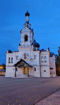 Церковь Успения Богородицы в Троице-Лыково, Москва, 27.09.2020
